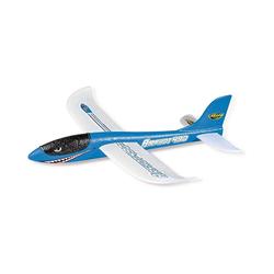 CARSON Spielzeug-Flugzeug Wurfgleiter Airshot 490 blau