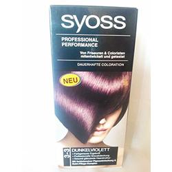 Syoss Color 3-3 Dunkelviolett 115 ml 3er Pack