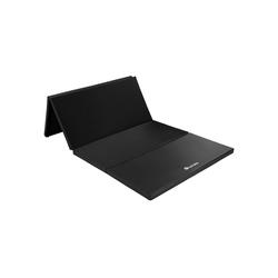 tectake Yogamatte Gymnastikmatte schwarz