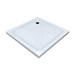BuyLando.Shop [Typ-DT] Duschtasse Duschwanne Acrylwanne Sanitär-Acryl Brausewanne 5 cm flach Variation (80x80cm)