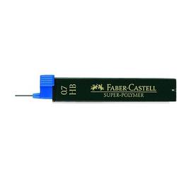 12 FABER-CASTELL SUPER-POLYMER Bleistiftminen HB