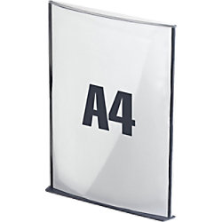 Paperflow Info-Display DIN A4 Kohle