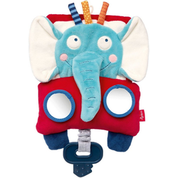 Sigikid Greifspielzeug Aktiv-Spieltuch Elefant