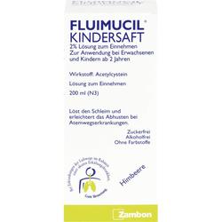 FLUIMUCIL Kindersaft 200 ml