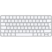 Apple Magic Tastatur USB + Bluetooth Aluminium, Weiß