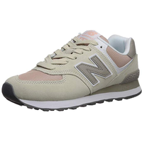 NEW BALANCE Women's 574 beige-pink/ white, 39