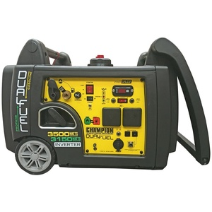 Champion 3100 Watt Inverter Benzin Dual 73001i DF
