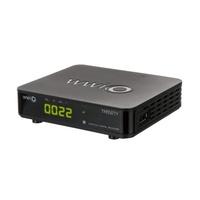 WWIO Mini DVB-T2/C Combo HD-Receiver TRINITY T2/C Mini schwarz