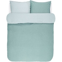 Marc O'Polo Washed Chambray aqua (200x220+2x80x80cm)