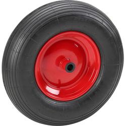 MEISTER Ersatzrad, für Schubkarren, 400 mm, pannensicher rot