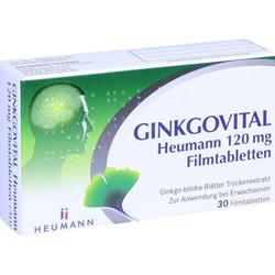 Ginkgovital Heumann 120 mg Filmtabletten