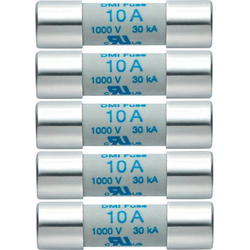 Testo 0590 0004 0590 0004 Sicherung Multimetersicherung 5er Set Ersatzsicherungen 10A/1000V 1St.