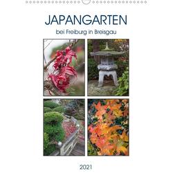 Japangarten (Wandkalender 2021 DIN A3 hoch)