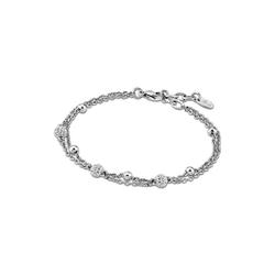 Lotus Style Edelstahlarmband JLS1763-2-2 Lotus Style Armband silber LS1763-2/2 (Armbänder), Armbänder für Damen Edelstahl (Stainless Steel)