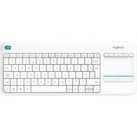 Logitech K400 Plus Wireless Touch Keyboard FR weiß (920-007130)