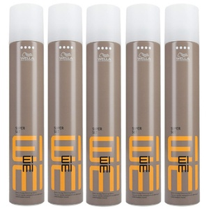 5er Wella Professionals EIMI Super Set Haarspray Extra Strong Finishing Spray 500 ml