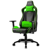 Sharkoon Elbrus 2 Gaming Chair schwarz/grün