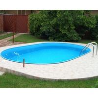 myPOOL Pool-Set Premium 8,00 x 4,16 x 1,50 m inkl. Sandfilteranlage ohne Montage