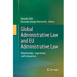 Global Administrative Law and EU Administrative Law - Buch