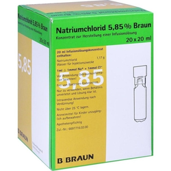 NATRIUMCHLORID 5.85% MPC 20ML