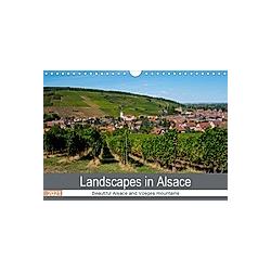 Landscapes in Alsace (Wall Calendar 2021 DIN A4 Landscape)