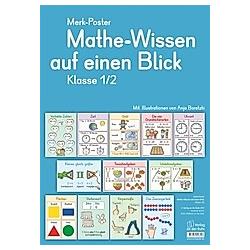 Mathe-Wissen auf einen Blick, Klasse 1/2 (Poster)