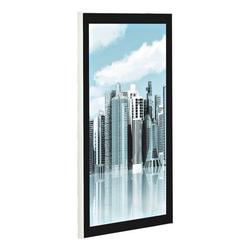 Magnetischer Posterrahmen DIN A4 schwarz, update displays, 23.7x32.4 cm