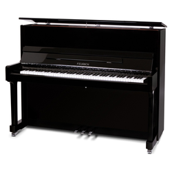 Feurich Mod. 122 Universal Piano Schwarz - Chrom