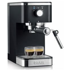 Graef Siebträgermaschine ES 402 Salita - Siebträger Espressomaschine - schwarz