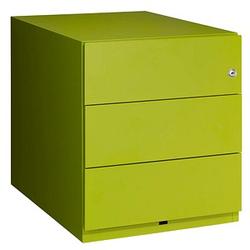 BISLEY Note Rollcontainer grün 3 Auszüge