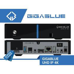 Gigablue GigaBlue IPBOX UHD IP 4K Ultra E2 IPTV Multiroom Satellitenreceiver