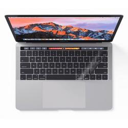 KB COVERS KB Covers Tastatur-Abdeckung Transparent für Deutsch / ISO Keyboard-Layout Skin Schutz-Cover Hülle Passend für Apple MacBook Pro 13