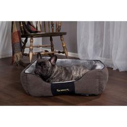 Scruffs Chester Box Bed hondenmand Graphite  M