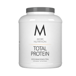 (3.66 EUR/100g) MORE NUTRITION Total Protein   600g / Geschmacksneutral