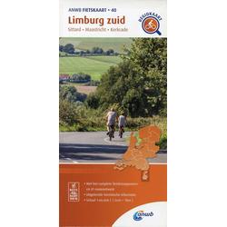 Limburg zuid (Sittard/Maastricht/Kerkrade) 1:66 000