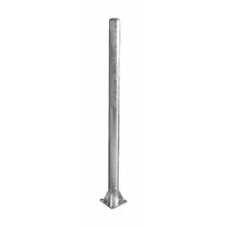 Patura Pfosten Durchmesser 102 mm Länge 185 m Bodenplatte 200x200 mm für Sauberkeitsschicht 303228
