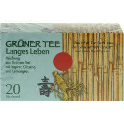 GRÜNER TEE+Ingwer+Ginseng Filterbeutel
