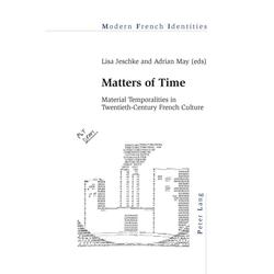 Matters of Time als Buch von