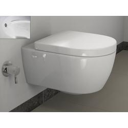 SSWW Tiefspül-WC Design Keramik Hänge-WC Wand WC Spülrandlos Tahara