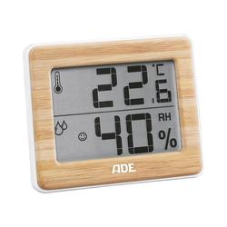 "ADE Raumthermometer Thermometer & Hygrometer ""Bambus"""