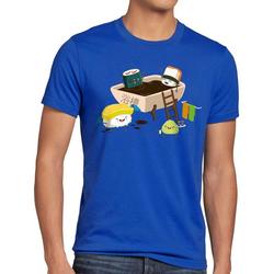 style3 Print-Shirt Herren T-Shirt Sushi Dinner japan japanisch dinner 4XL