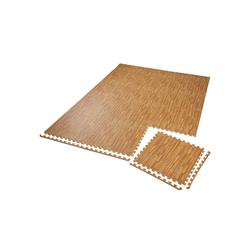 tectake Bodenschutzmatte Bodenschutzmatte 12-tlg.