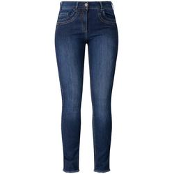 Jeans  mit Stickerei RECOVER Pants dark blue