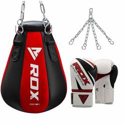 RDX Mais Boxsack (Größe: Standardgröße, Farbe: Rot)