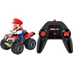 Carrera RC 2,4GHz Mario Kart, Mario  - Quad blau/rot