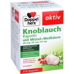 DOPPELHERZ Knobl.Kap.m.Mistel+Weißdorn 60/24/54 mg 270 St
