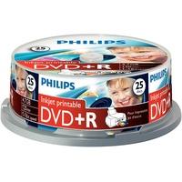 Philips DVD+R 4,7GB 16x bedruckbar 25er Spindel