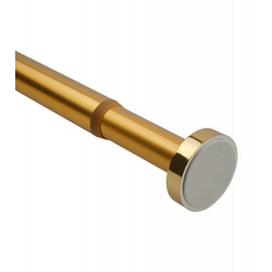 Duschvorhangstange Gold 90-160 cm