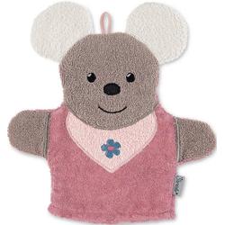 Sterntaler® Waschlappen Spiel-Waschhandschuh Emmi rosa