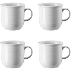 4 x Becher mit Henkel groß - Trend Weiß - Thomas - 11400-800001-15571 -
